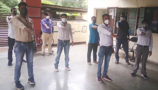 विद्यार्थियों ने ली तंबाकू का सेवन नहीं करने की  शपथ