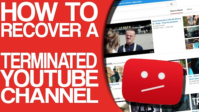 How To Return YouTube Suspended Account 100% Working Method...!!