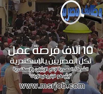 وظائف خالية ,وزارة البترول ,10 الاف فرصة عمل ,الشركة المصرية لإنتاج الإيثيلين بالإسكندرية ,إيثيدكو للبتروكيماويات ,رابط التقديم ,شروط التقديم ,اماكن التقديم ,رواتب مجزية
