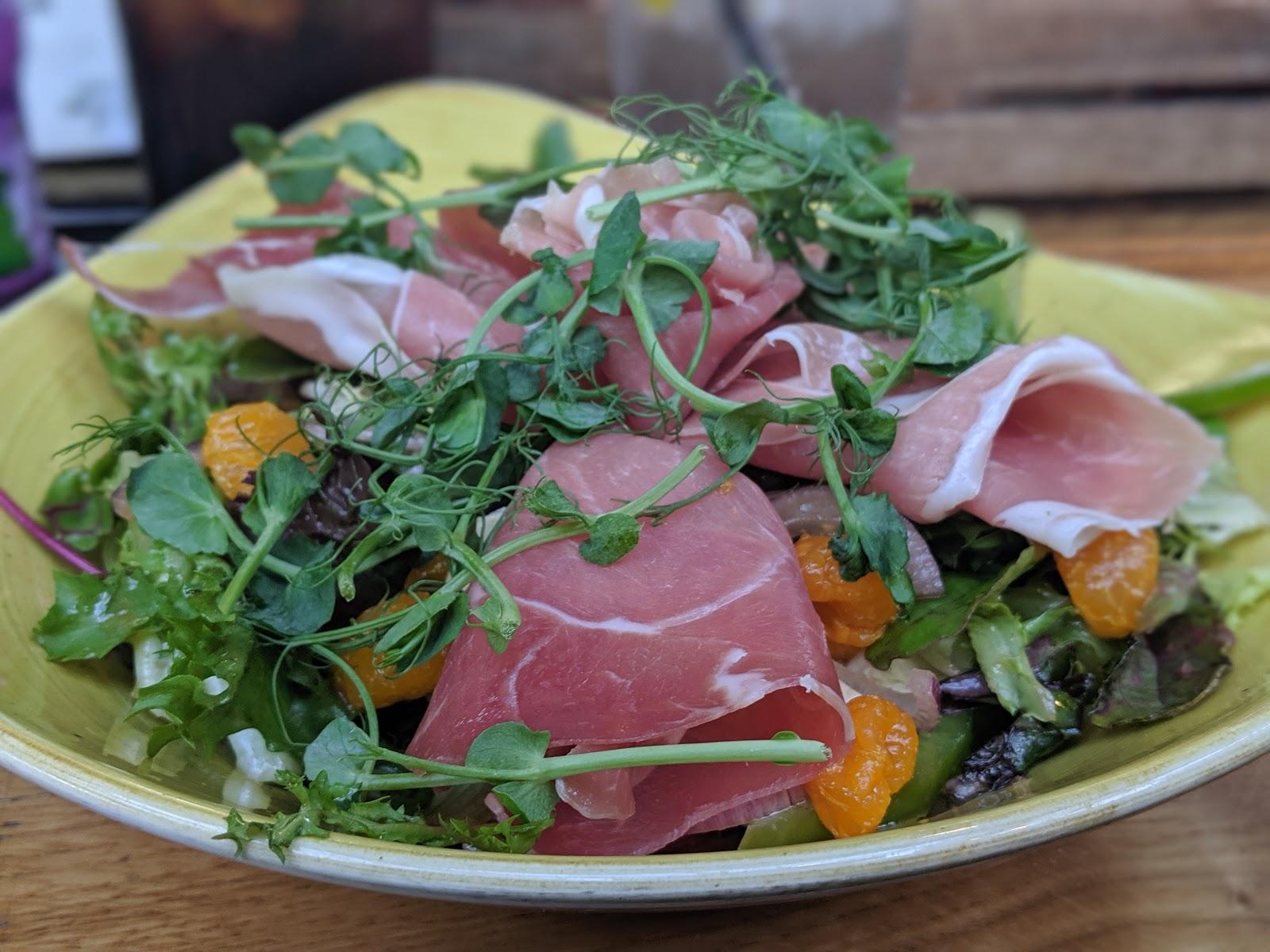A Weekend Exploring Seaham Beach & Durham's Heritage Coast - Seaton Lane Inn - salad
