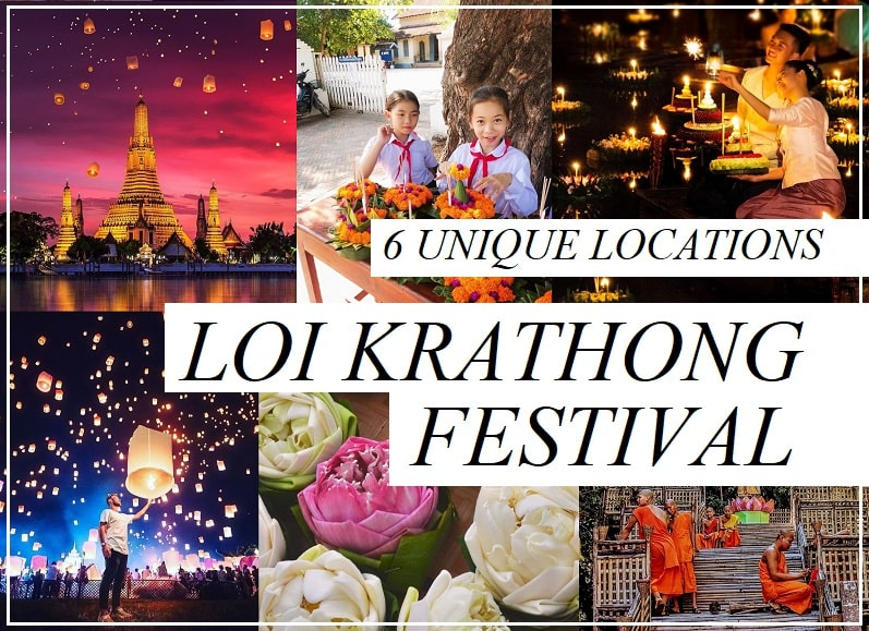 6 Unique Locations to Celebrate Loi Krathong Festival