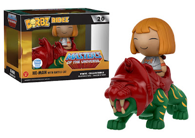 Masters of the Universe Battle Armor He-Man with Battle Cat Dorbz Ridez by Funko