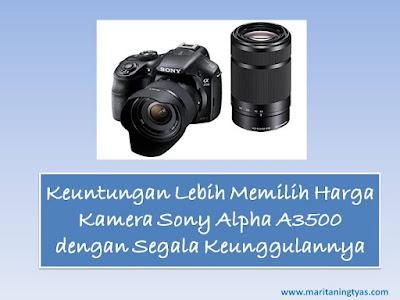 Kamera Sony Alpha A3500 Keren