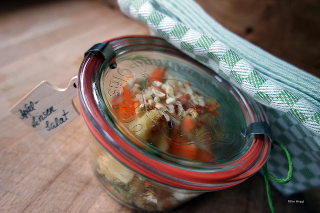 Salat mit Produkten aus der Goodnoozbox