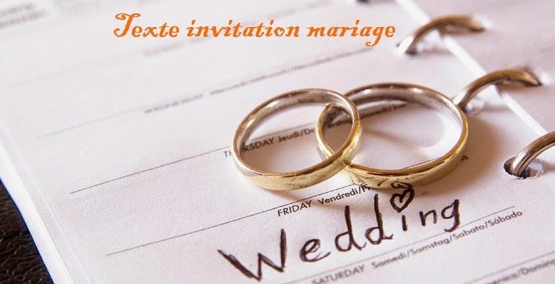 Texte Invitation Mariage Texte Anniversaire Sms