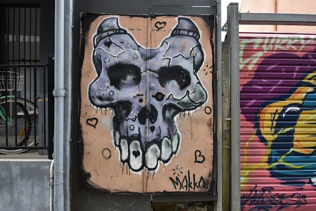 Street Art in Darlinghurst by Mike Makatron
