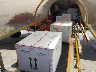 कोविड-19 के खिलाफ लड़ाई में मदद के लिए जम्मू हवाई अड्डे ने 16 लाख से अधिक टीके की खुराक पहुंचाई