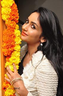 Actress Pooja Sree  Pictures at Khaan Saab Restuarent Launch in Gachibowli   0071.JPG