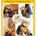Teddy bear Back pack / School bag
