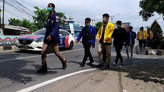 Setelah Aksi Tolak Omnibus Law, Ketua BEM Se-Kalsel Malah Ditangkap Polisi