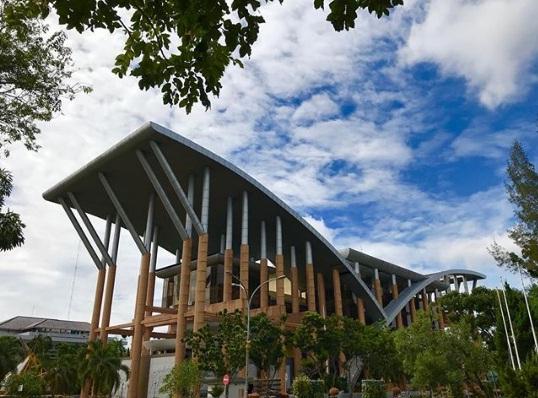 perpustakaan soeman hs tempat wisata pekanbaru