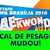 1ª ETAPA DA COPA BRASÍLIA 2016 (O LOCAL DA PESAGEM E CONGRESSO TÉCNICO MUDOU)