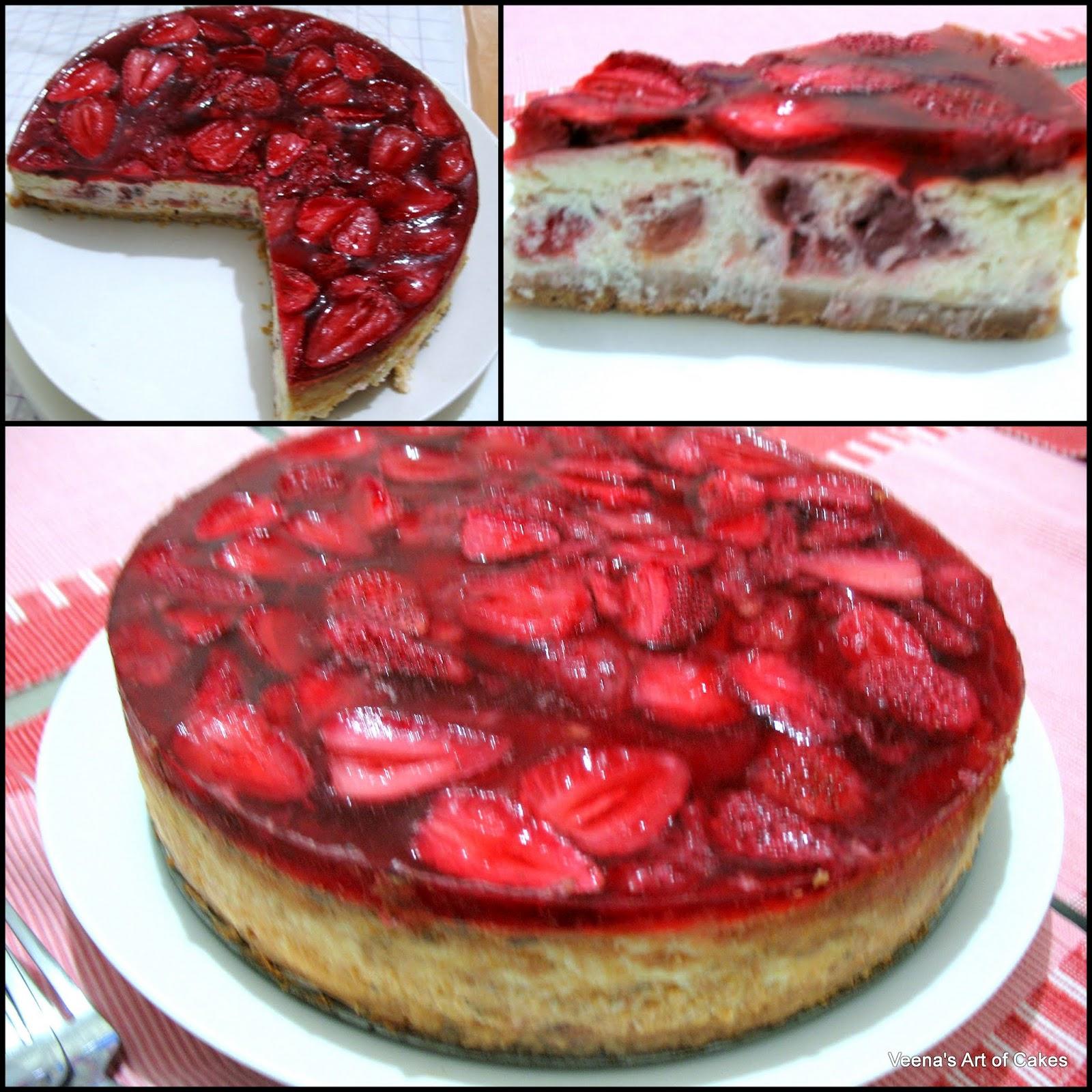 Strawberry Cheesecake Recipe: Strawberry Cheesecake