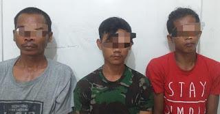 Polsek Sungkai Utara Ringkus Tiga Pelaku Pencurian Kelapa Sawit
