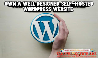 Own a well designed Self-Hosted WordPress website