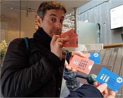 city card gent gante