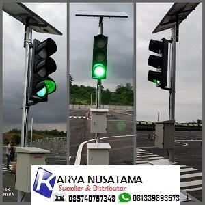 Jual Trafic Light Solar Panel Komplit Lengkap Controler di Bogor