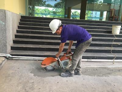 Khoan cắt bê tông tại phường Tân Thới Nhất