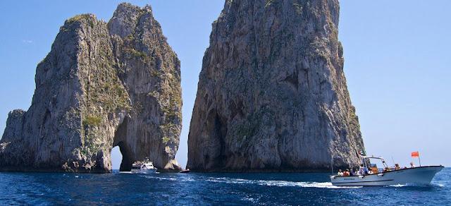 Primeiro dia de viagem na Ilha de Capri
