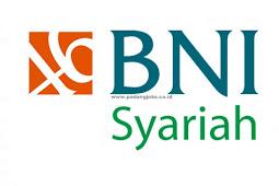 Lowongan Kerja Sumbar PT. Bank BNI Syariah Agustus 2019