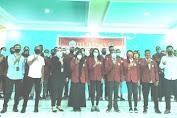 resmi! ketua STIH dr. Firtriyah, Sh. Mh: melantikan BEM dan DPM  Sekolah Tinggi Ilmu Hukum Umel Mandiri jayapura