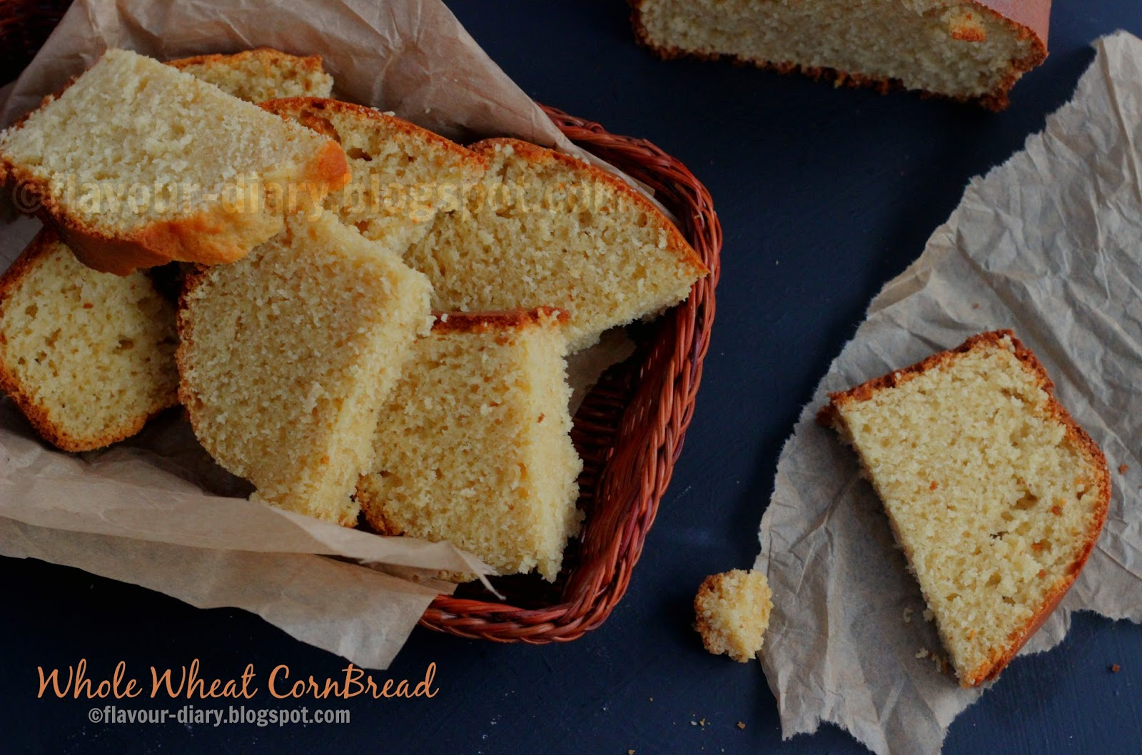 whole wheat cornbread recipe