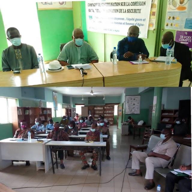 Agou: Les jeunes d'Agou outillés sur la préservation de la paix