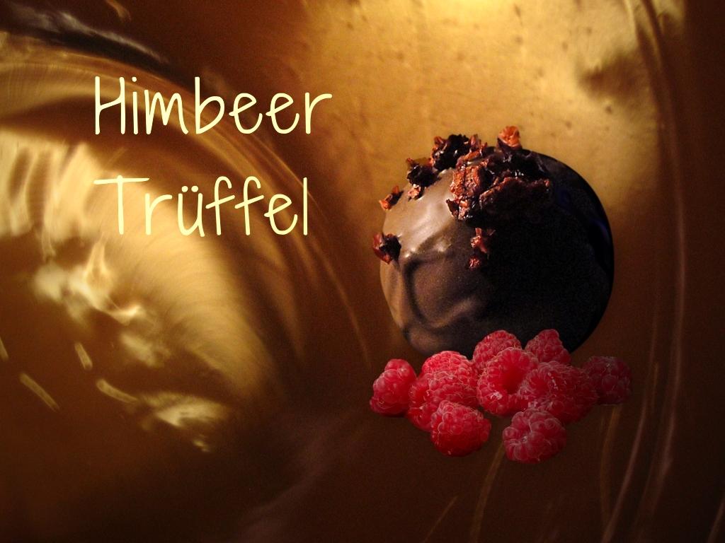 Himbeer Canache-Praline