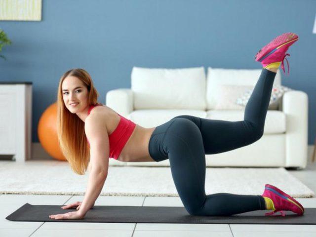 5 лучших упражнений для ног для дома