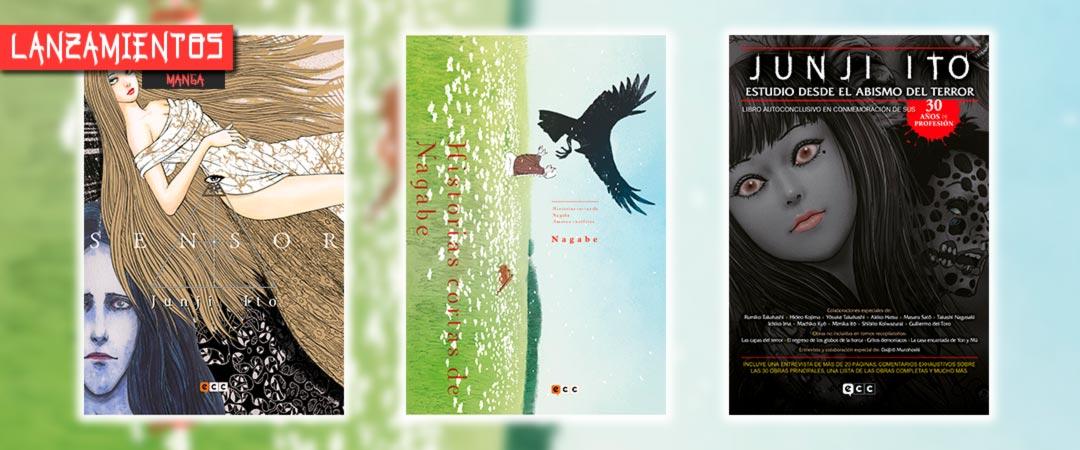 Novedades ECC Ediciones octubre 2020 - manga