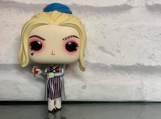 Harley Quinn Funko Pop! Vinyl figure with glass in hand