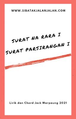 chord lagu batak surat na rara jack marpaung dan novita dewi marpaung