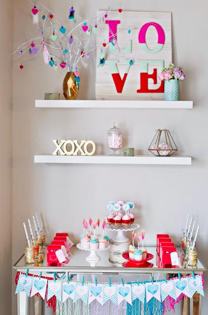 Inspiracion para decorar la mesa de san valentin for Decorar mesa san valentin