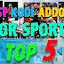 Top 5 Best Addons To Watch Live Sports On Kodi