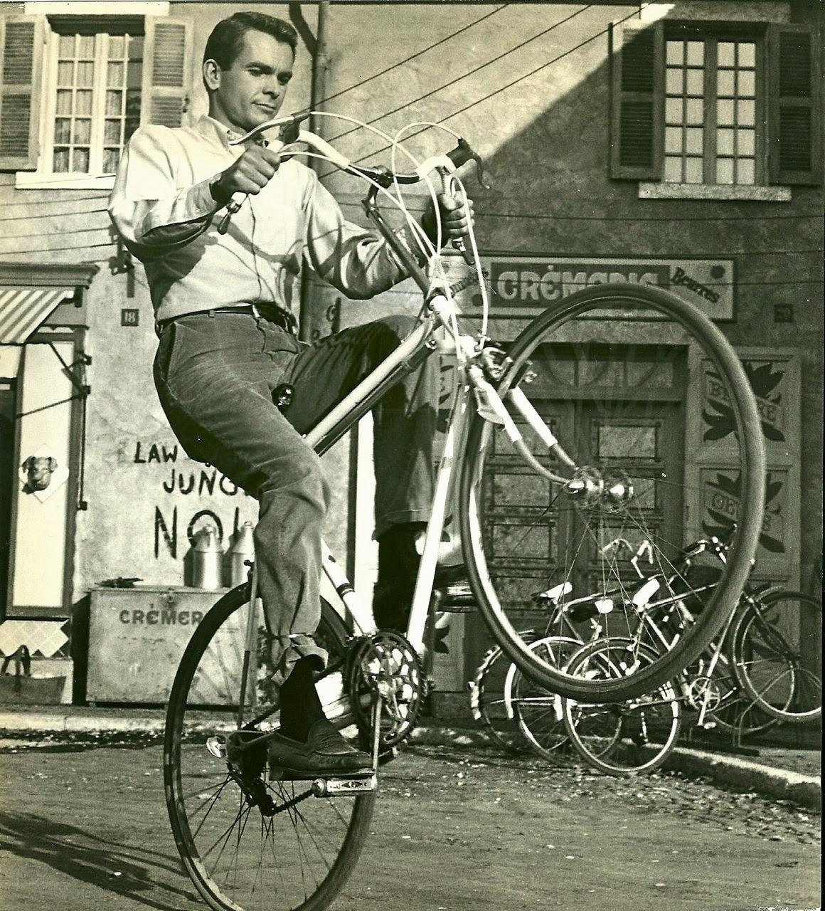 Dean Jones Wheelies A Bike 1967 Vintage Everyday