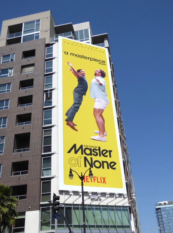 Master of None season 2 Emmy billboard