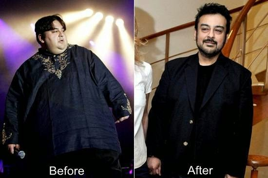 Adnan Sami weight loss