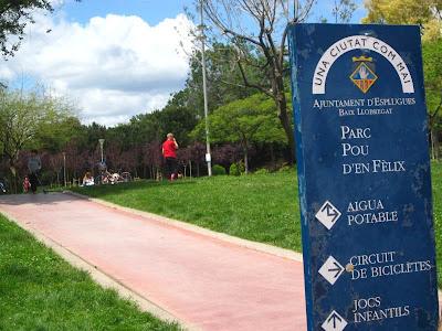 Park Pou d'en Fèlix in Esplugues de Llobregat