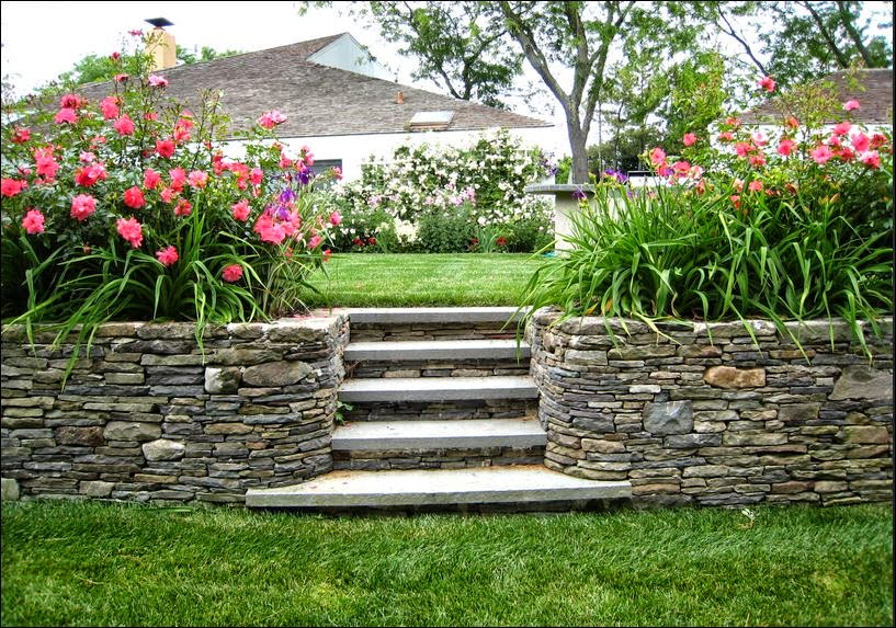 Retaining Wall Ideas For Steep Slopes Unique Pictures