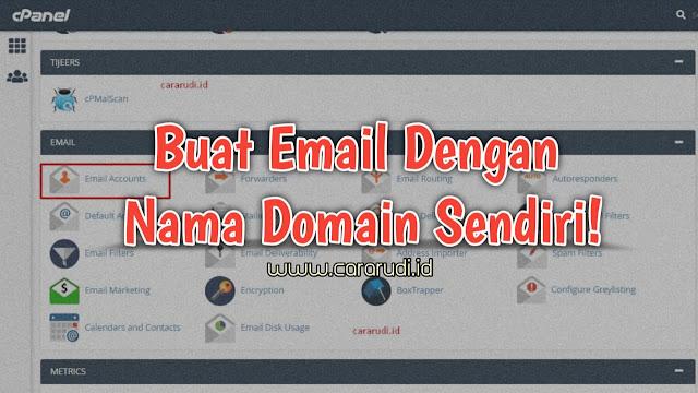 buat email dengan nama domain sendiri