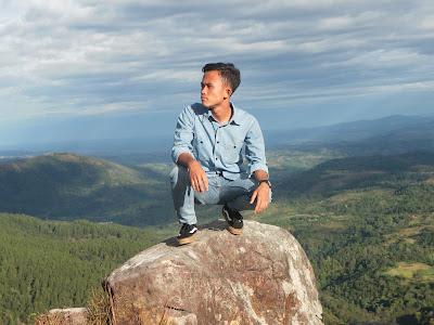 Bukit Batu Olang, Eksplor Pemandangan Alam Penggunungan Sipirok Tapsel