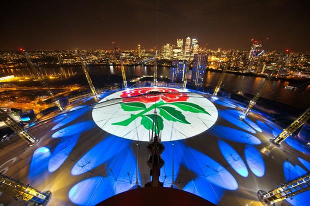 BEAMLOG: O2 claims the world's largest projection in ...