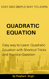 Quadratic Equation - easy way to solve equation book