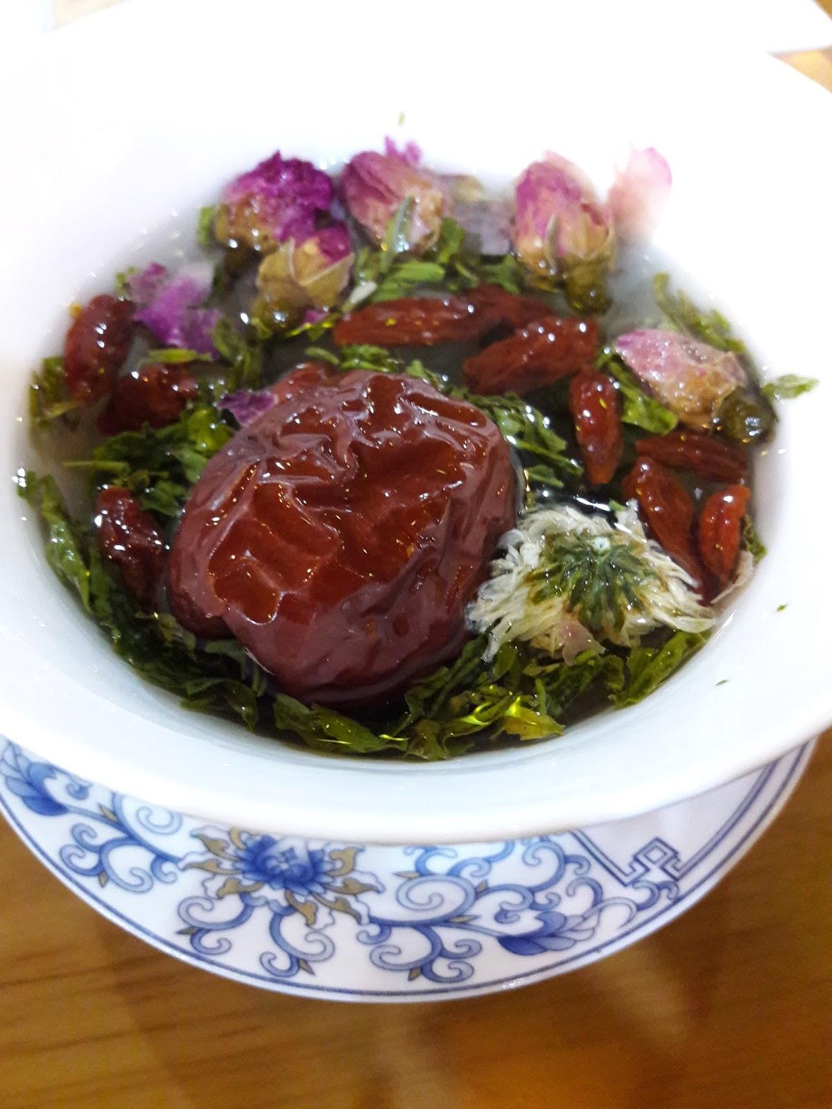 Chinese tea ke namanya for Amber asian cuisine