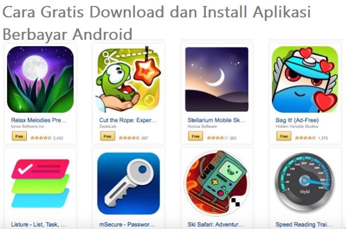 2 Komentar Untuk Cara Gratis Download Dan Install Aplikasi Berbayar Android