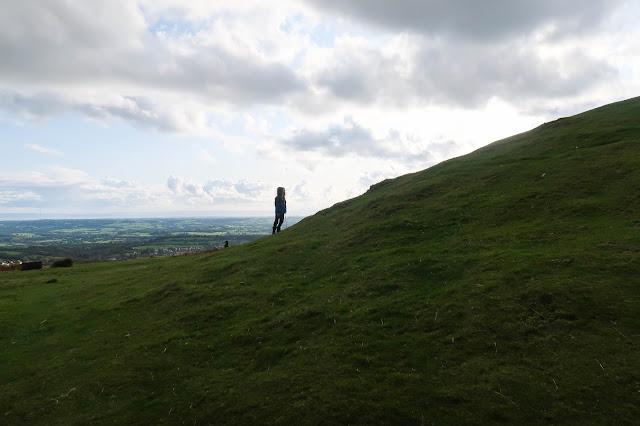 family hikes Wales