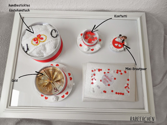 rabeerchen geschenk zur hochzeit die torte. Black Bedroom Furniture Sets. Home Design Ideas