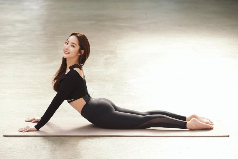 박민영 레깅스