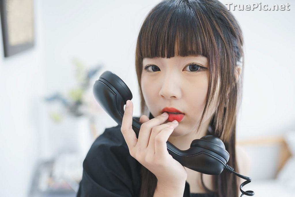 Image Thailand Model - Pakkhagee Arkornpattanakul - Cute Girl In Black - TruePic.net - Picture-2