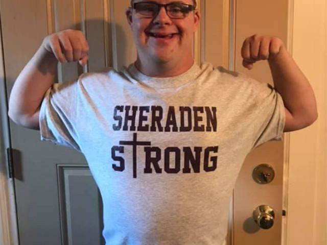 Sheraden Strong Sheraden Strong T Shirts Hoodie Hooded Sweatshirt